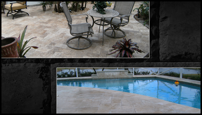 sample travertine pavers house 16