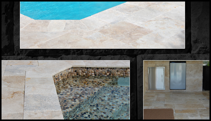 sample travertine pavers house 22