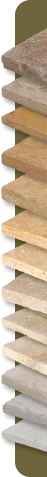 travertine color tiles